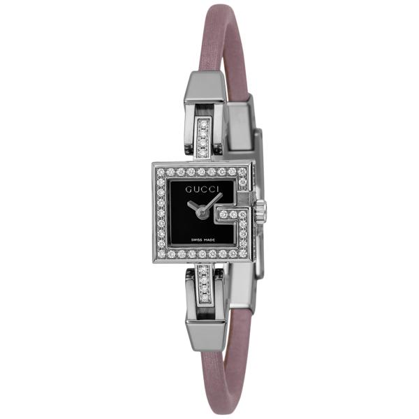 グッチ GUCCI Gミニ クオーツ レディース 腕時計 YA102508-PNK ブラック ブラック【送料無料】