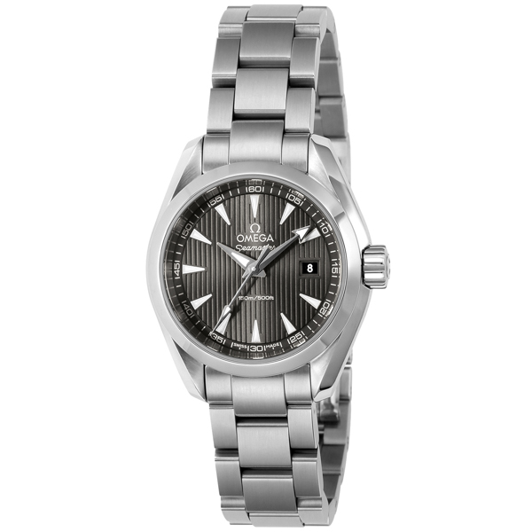 オメガ OMEGA シーマスター アクアテラ クオーツ レディース 腕時計 231.10.30.60.06.001 グレー グレー【送料無料】