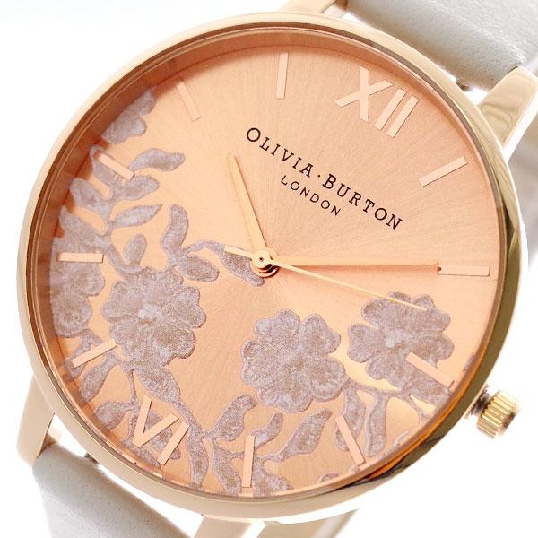 オリビアバートン OLIVIA BURTON 腕時計 レディース OB16MV53 クォーツ ホワイト ピンクゴールド ホワイト【送料無料】