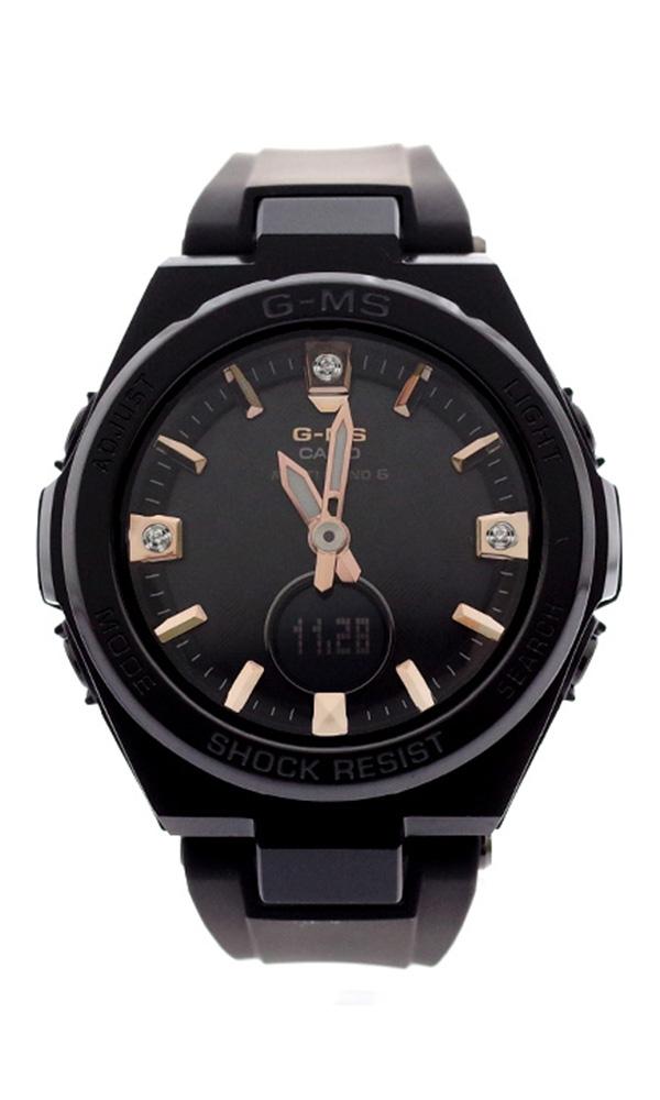 カシオ CASIO 腕時計 レディース MSG-W200BDD-1AJF ベビーG BABY-G ジーミズ G-MS クォーツ ブラック ブラック【送料無料】