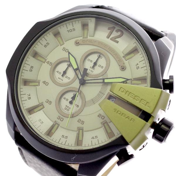 ディーゼル DIESEL 腕時計 メンズ DZ4495 クォーツ グリーン ブラック グリーン【送料無料】