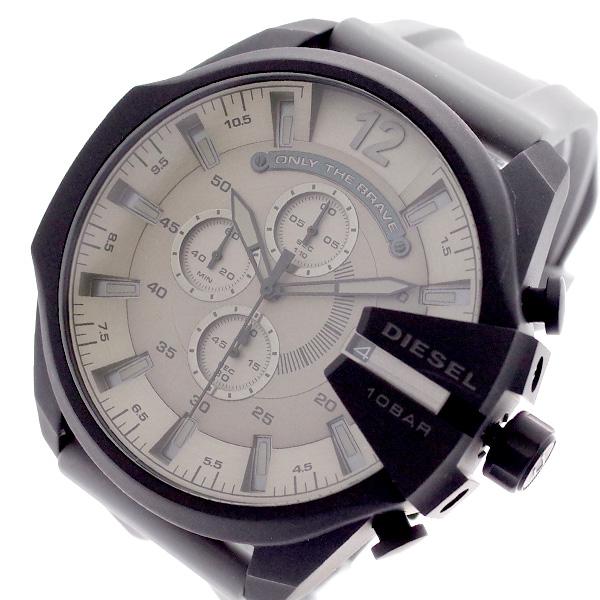 ディーゼル DIESEL 腕時計 メンズ DZ4496 クォーツ モカブラウン グレー モカブラウン【送料無料】