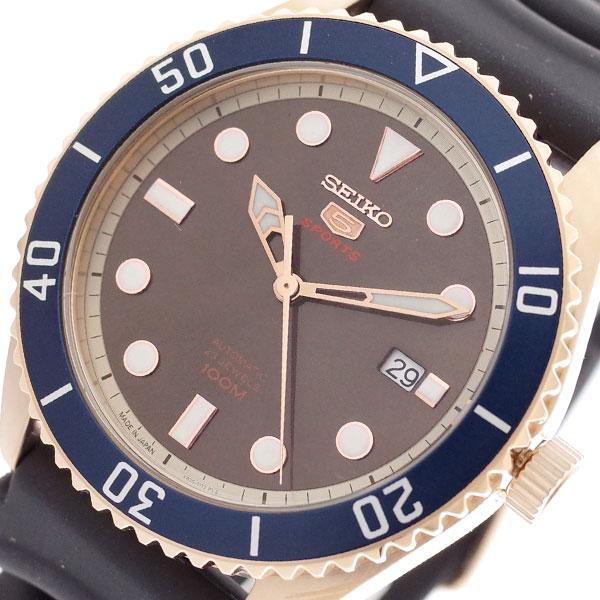 セイコー SEIKO 腕時計 メンズ SRPB96J1 セイコー5 SEIKO5 スポーツ SPORTS 自動巻き ブラウン ブラック ブラウン【送料無料】