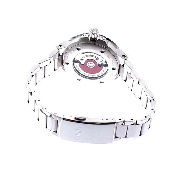 オリス ORIS 腕時計 レディース 73377314151M AQUIS 自動巻き ホワイト シルバー ホワイト