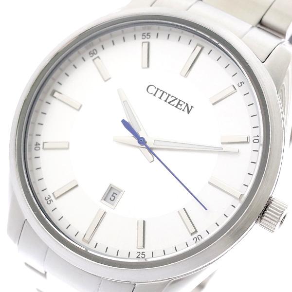 シチズン CITIZEN 腕時計 メンズ BI1030-53A クォーツ シルバー シルバー