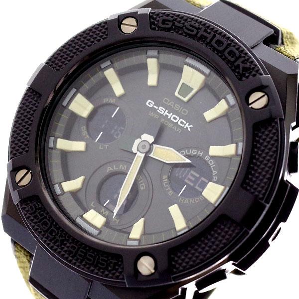 カシオ CASIO 腕時計 メンズ GST-S130BC-1A3 Gショック G-SHOCK クォーツ ブラック カーキ カーキ【送料無料】
