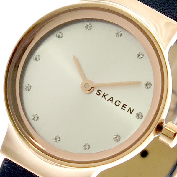 スカーゲン SKAGEN 腕時計 レディース SKW2744 クォーツ シルバー ネイビー ピンクゴールド
