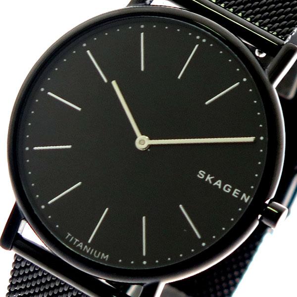 スカーゲン SKAGEN 腕時計 メンズ レディース SKW6484 クォーツ ブラック ブラック【送料無料】