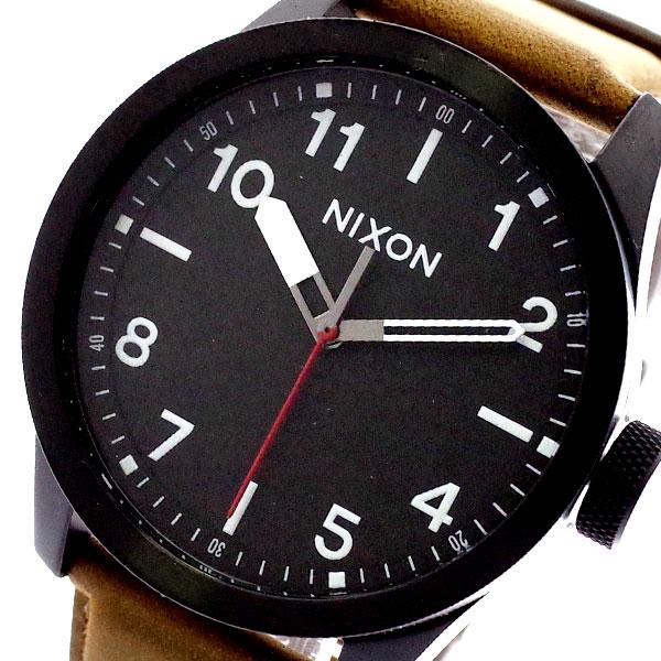 ニクソン NIXON 腕時計 メンズ A9751032 クォーツ ブラック キャメル ブラック【送料無料】