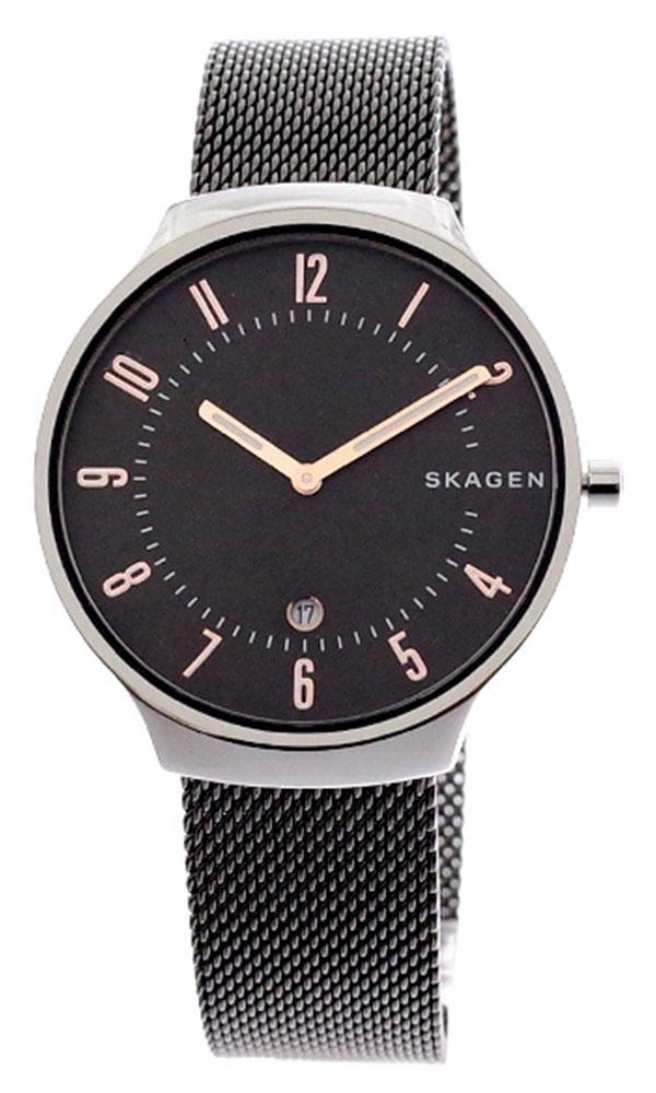 スカーゲン SKAGEN 腕時計 メンズ レディース SKW6460 GRENEN クォーツ グレー ガンメタ グレー
