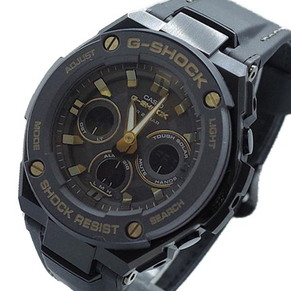 カシオ CASIO 腕時計 メンズ GST-S300GL-1A Gショック G-SHOCK クォーツ ブラック【送料無料】:リコメン堂ファッション館