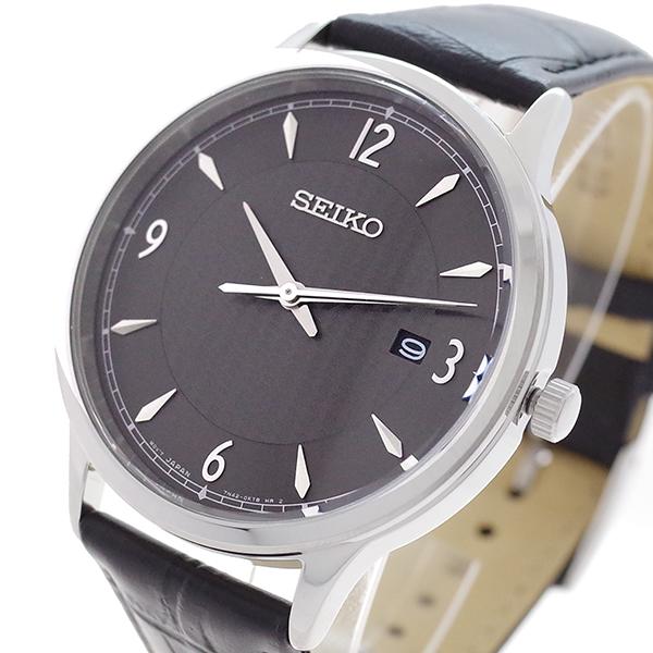 第一ネット セイコー SEIKO 腕時計 メンズ SGEH85P クォーツ ガンメタル ブラック【送料無料】, LuDE ada2e5b5