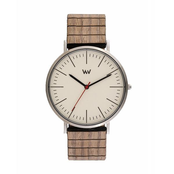 ウィーウッド WEWOOD 腕時計 メンズ 9818200 HORIZON SILVER IVORY NUT クォーツ オフホワイト ベージュ 国内正規:リコメン堂ファッション館
