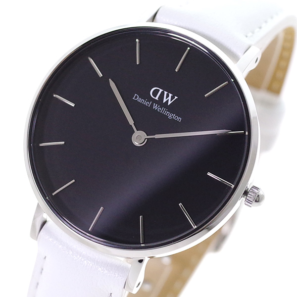 魅力的な価格 ダニエルウェリントン DANIEL WELLINGTON 腕時計 レディース DW00100284 クォーツ ブラック ホワイト【送料無料】, ダンスウェアのベイシス 00a36ae7