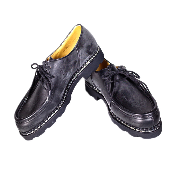 パラブーツ PARABOOT 靴 メンズ 715604 NOIR 42.5 ミカエル MICHAEL ブラック【送料無料】