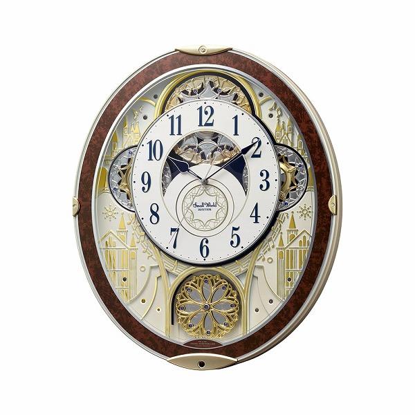 最安値級価格 RHYTHM リズム 掛時計 スモールワールド 掛時計 レディース ノエル NS 8MN407RH23 メンズ レディース 8MN407RH23 木目ブラウン ホワイト【送料無料】, SIMPLE PLEASURE:1792420c --- kanvasma.com