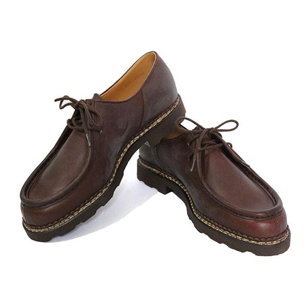 パラブーツ PARABOOT 靴 715612 CAFE 44.0 シャンボード ミカエル MICHAEL ダークブラウン【送料無料】