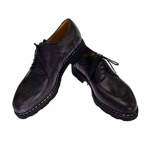 パラブーツ PARABOOT 靴 705109 NOIRE LISSE NOIR 7.5 アヴィニョン AVIGNON ブラック【送料無料】