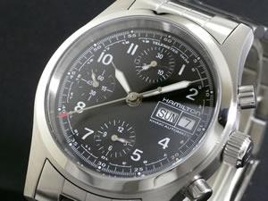 HAMILTON ハミルトン カーキ フィールド オート クロノ 腕時計 H71416137【送料無料】