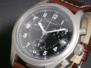 ハミルトン HAMILTON 腕時計 カーキ クロノグラフ H68582533【送料無料】