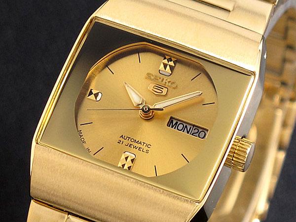 セイコー5 SEIKO ファイブ DRESS 腕時計 自動巻き レディース SYM632J1【送料無料】
