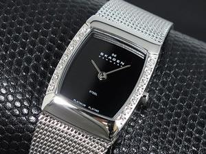 【あす楽対応】 スカーゲン SKAGEN 腕時計 レディース 684XSSBPL【送料無料】, ヨナバルチョウ 7c6a10fd