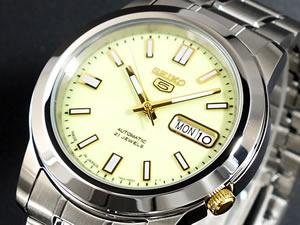 セイコー 5 SEIKO ファイブ 腕時計 自動巻き 日本製 SNKK19J1【送料無料】