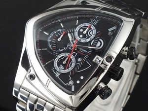 コグ COGU 腕時計 アシンメトリー クロノグラフ C43M-BK ブラック【送料無料】