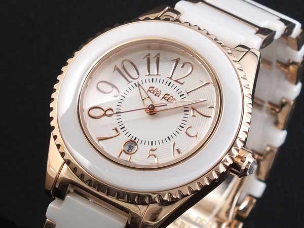 Folli Follieフォリフォリ 腕時計 替えベゼル付き WF0B033BDW【送料無料】