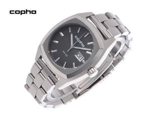 COPHA コプハ 腕時計 XL メンズ SS ブラック×シルバー【送料無料】