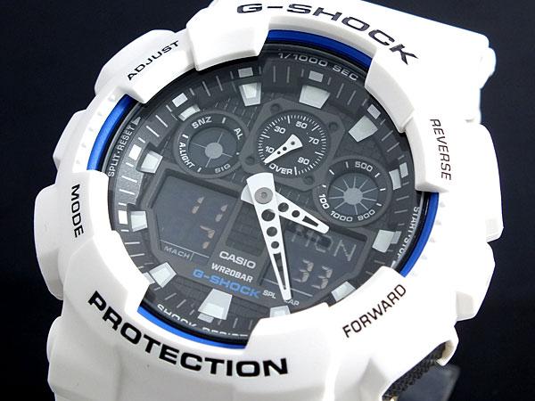 カシオ Gショック CASIO 腕時計 ハイパーカラーズ GA-100B-7AJF【ラッピング無料】【送料無料】