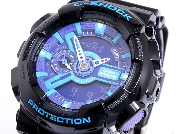 カシオ Gショック CASIO 腕時計 ハイパーカラーズ GA-110HC-1AJF【送料無料】