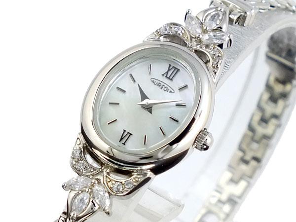 上品なスタイル オレオール AUREOLE 腕時計 レディース SW-451L-3【送料無料】, ナカグスクソン aca06461