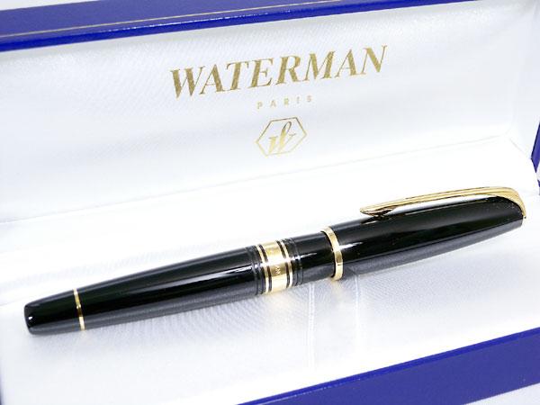 WATERMAN ウォーターマン チャールストン 万年筆 エボニーブラック GT M(中字)【送料無料】