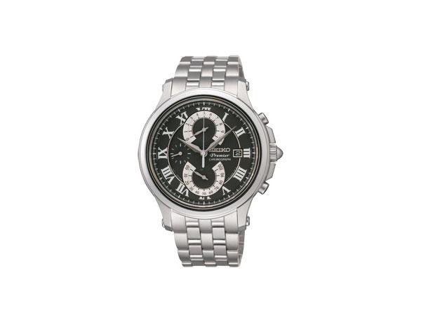セイコー SEIKO セイコー プルミエ クオーツ クロノ メンズ 腕時計 SCJJ003 国内正規【送料無料】