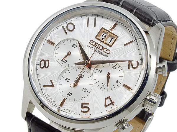 セイコー SEIKO クロノグラフ 腕時計 SPC087P1【送料無料】