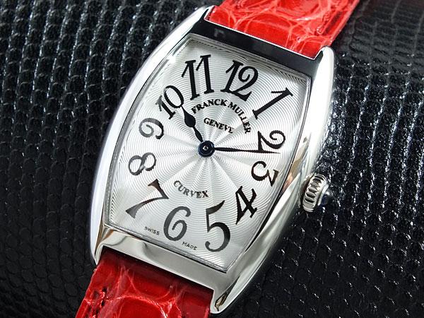 2021年最新入荷 フランクミュラー レディース FRANCK MULLER 腕時計 トノーカーベックス 腕時計 レディース MULLER 1752-QZ-銀/赤革【送料無料】, DILash BABY & KIDS SHOP:72820ab6 --- eraamaderngo.in