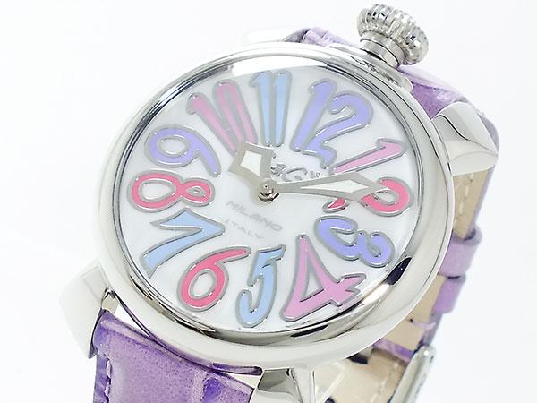 ガガミラノ GAGA MILANO MANUALE 腕時計 5020-7 PUR【送料無料】