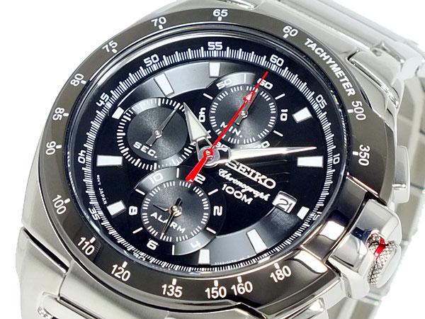 【期間限定送料無料】 セイコー SEIKO クロノグラフ 腕時計 メンズ SESNAA35P1【送料無料】, 那須郡 ae945ea1