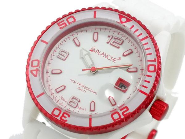 アバランチ AVALANCHE 腕時計 AV-1016CER-RD