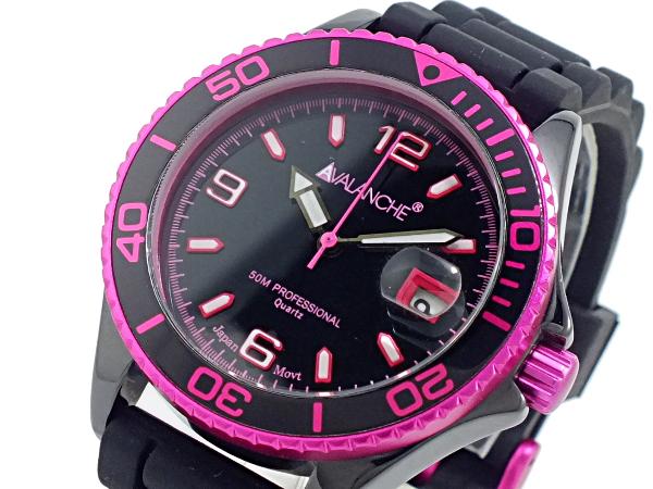 アバランチ AVALANCHE 腕時計 AV-1017CER-PK