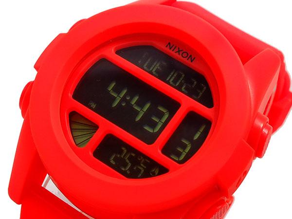 ニクソン NIXON ユニット UNIT 腕時計 時計 A197-1156 オレンジ