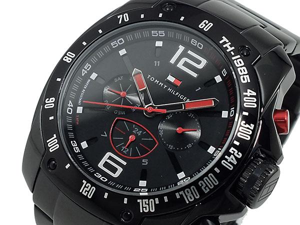 新作 トミー ヒルフィガー 腕時計 メンズ 1790870 ブラック【送料無料】, Cotton松井 d77192c1