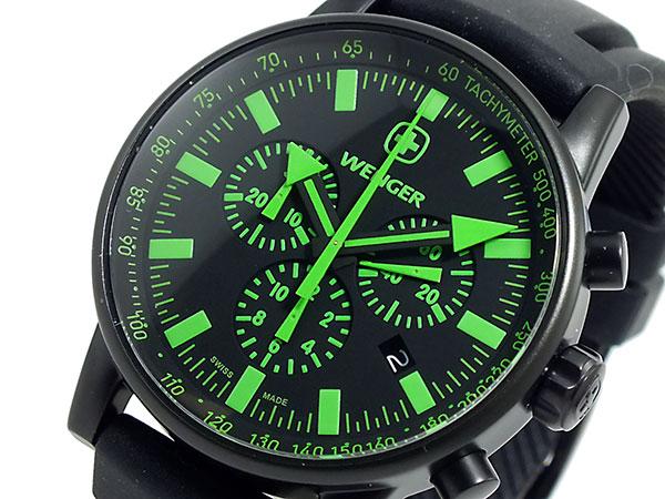 ウェンガー WENGER クロノグラフ 腕時計 メンズ 70891【送料無料】