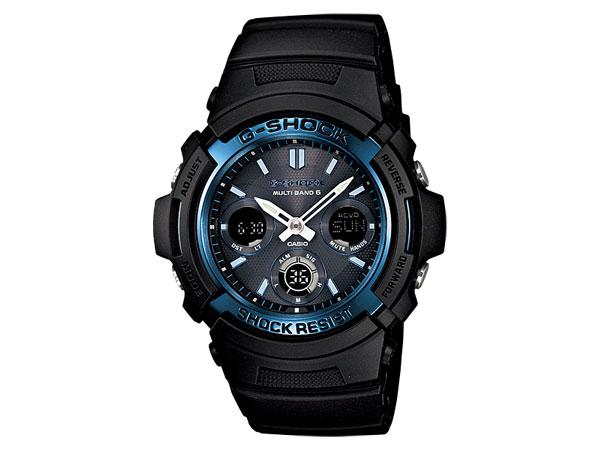 カシオ CASIO Gショック スタンダード 電波タフソーラー 腕時計 AWG-M100A-1AJF【送料無料】