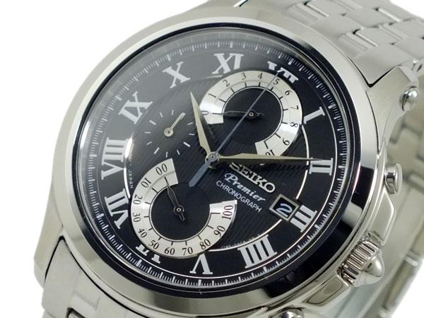 セイコー SEIKO プルミエ PREMIER クロノグラフ 腕時計 SPC067P1【送料無料】