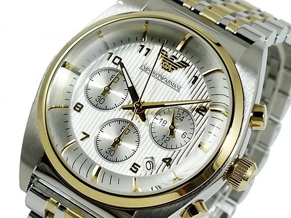 エンポリオ アルマーニ EMPORIO ARMANI クロノグラフ 腕時計 AR0396【送料無料】