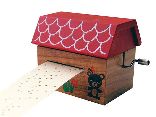 モコモ カード式オルゴール(B) MM010-AN-B【送料無料】