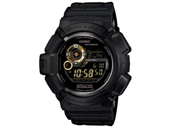 カシオ CASIO Gショック G-SHOCK マッドマン タフソーラー デジタル 腕時計 G9300GB-1 【送料無料】