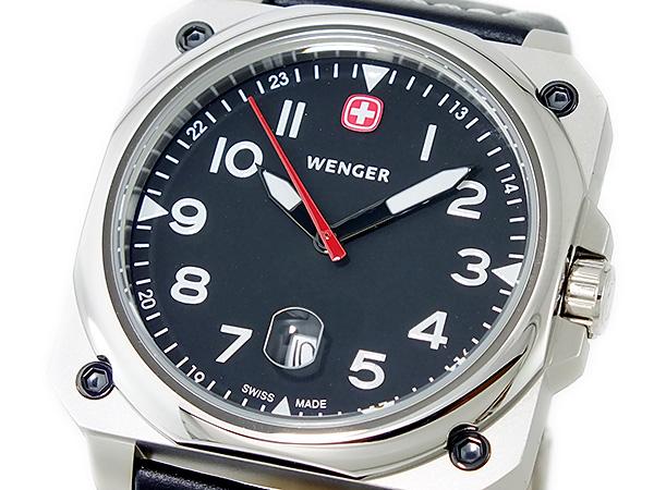 ウェンガー WENGER エアログラフ クオーツ メンズ 腕時計 72425【送料無料】
